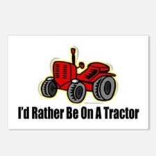 Funny Tractor Postcards (Package of 8)