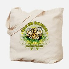 Wild Leopards Tote Bag