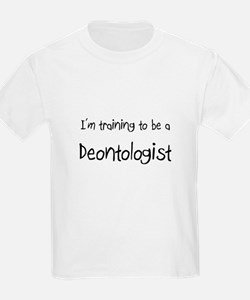 I'm training to be a Deontologist T-Shirt