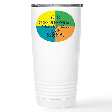 Cachers Stainless Steel Travel Mug