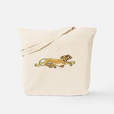 Celtic Lion Tote Bag