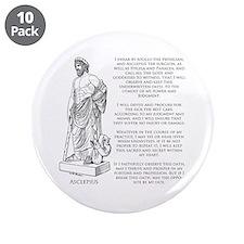 "Hippocratic Oath 3.5"" Button (10 pack)"