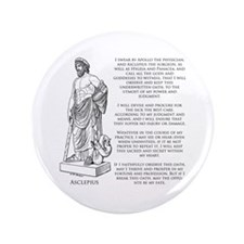 "Hippocratic Oath 3.5"" Button"