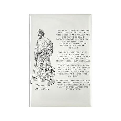 Hippocratic Oath Rectangle Magnet (100 pack)