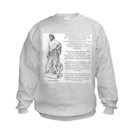 Hippocratic Oath Kids Sweatshirt