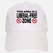 This Area Is A Liberal-Free Zone Baseball Baseball Cap