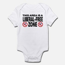 This Area Is A Liberal-Free Zone Infant Bodysuit