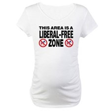 This Area Is A Liberal-Free Zone Shirt