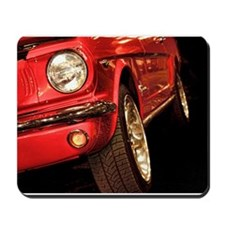Red Mustang Mousepad