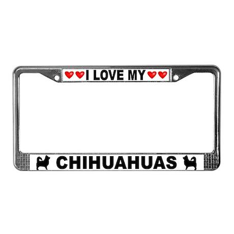 Love/Hearts Chihuahuas (Long-Hair)