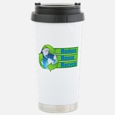 The 3 R's Stainless Steel Travel Mug
