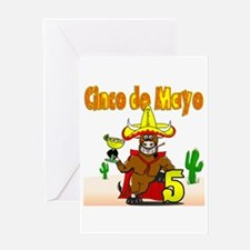 Unique Mexican pride Greeting Card