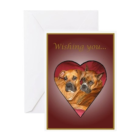 Ginger Wedding Card