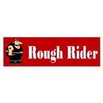 Rough Rider Bumper Sticker (10 pk)