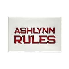 ashlynn rules Rectangle Magnet (10 pack)
