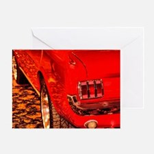 'Stang Rear 1/4 Greeting Card