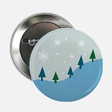 Winter Mountainside Button
