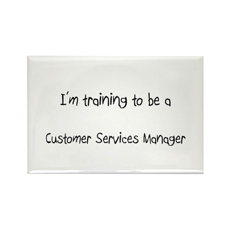 I'm training to be a Customer Services Manager Rec
