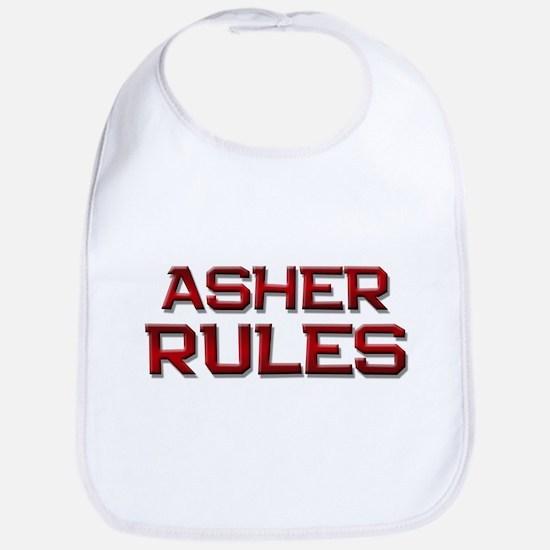 asher rules Bib