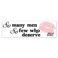 """Many Men"" Bumper Bumper Bumper Sticker"