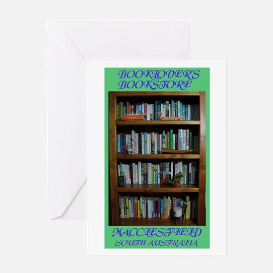 BOOKLOVER'S BOOKSTORE Greeting Card
