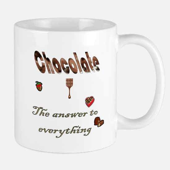Chocolate, answer to everythi Mug