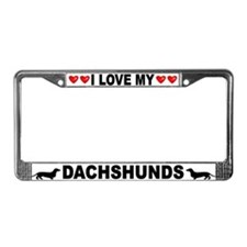 Love/Hearts Dachshunds