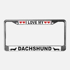 Love/Hearts Dachshund