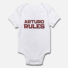 arturo rules Infant Bodysuit
