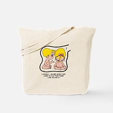 Blonde EGGBERT Low on Parts Tote Bag