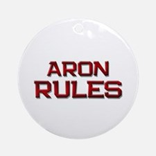 aron rules Ornament (Round)