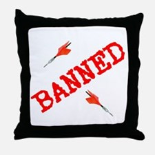 Unique Banned Throw Pillow