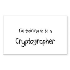 I'm training to be a Cryptographer Decal