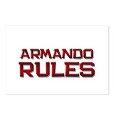 armando rules Postcards (Package of 8)