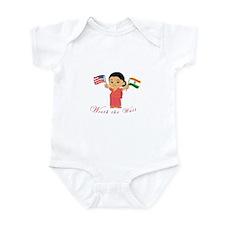 Worth the Wait Adoption India Infant Bodysuit