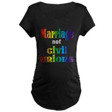 Marriage Not Civil Unions T-Shirt