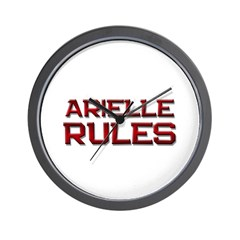 arielle rules Wall Clock