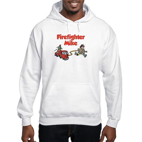 Firefighter Mike Hooded Sweatshirt