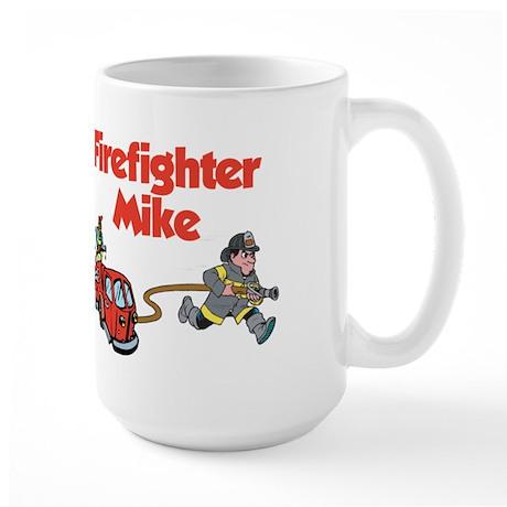 Firefighter Mike Large Mug