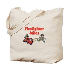 Firefighter Miles Tote Bag