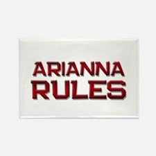 arianna rules Rectangle Magnet