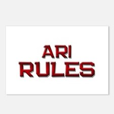 ari rules Postcards (Package of 8)