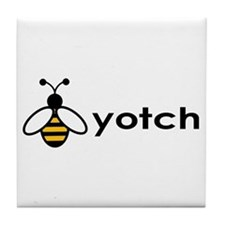 Beeyotch Tile Coaster
