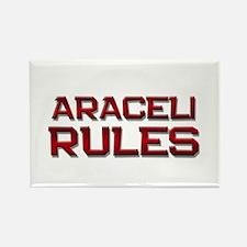 araceli rules Rectangle Magnet