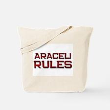 araceli rules Tote Bag