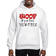WOOF Newfies Hoodie