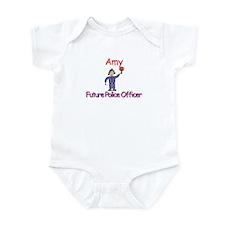 Amy - Future Police Infant Bodysuit