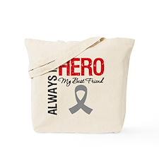 BrainCancerHero BestFriend Tote Bag