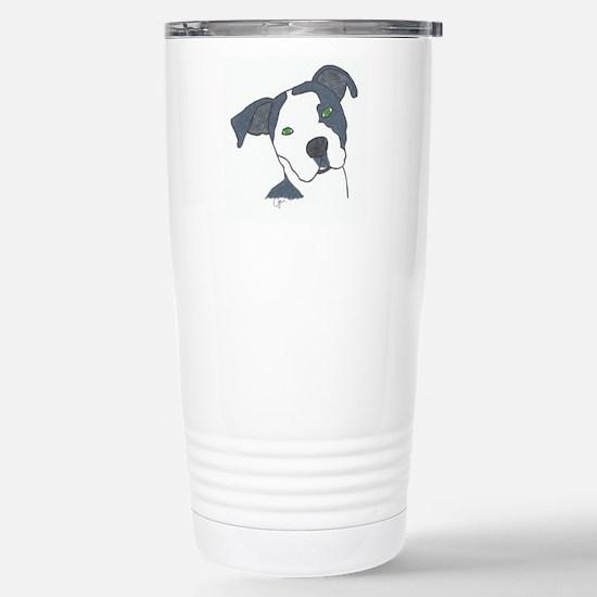 Brindle Stainless Steel Travel Mug