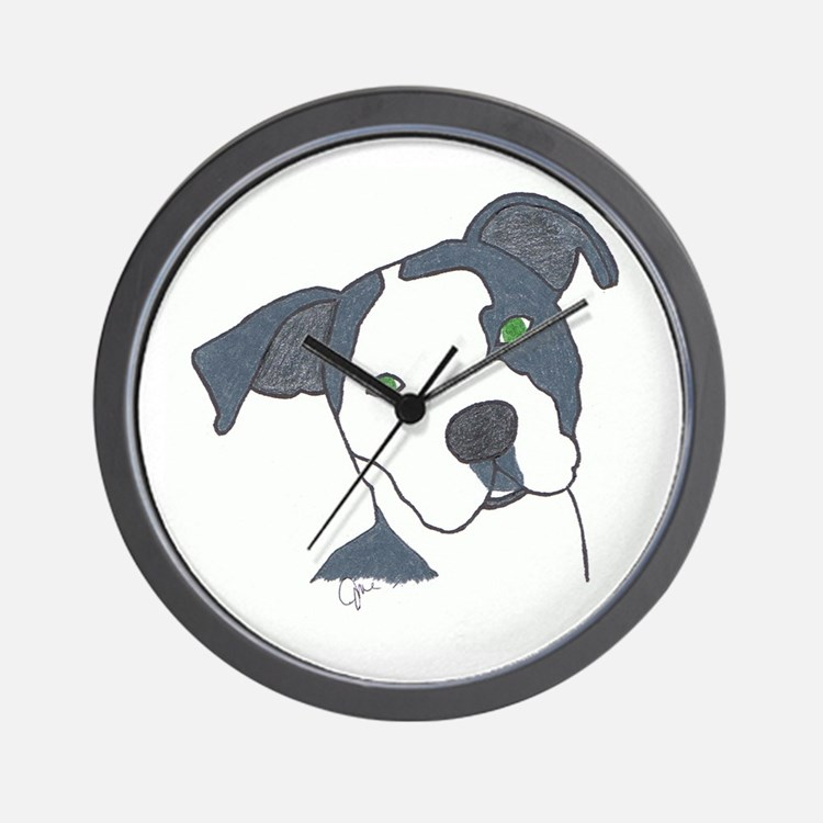 Brindle Wall Clock